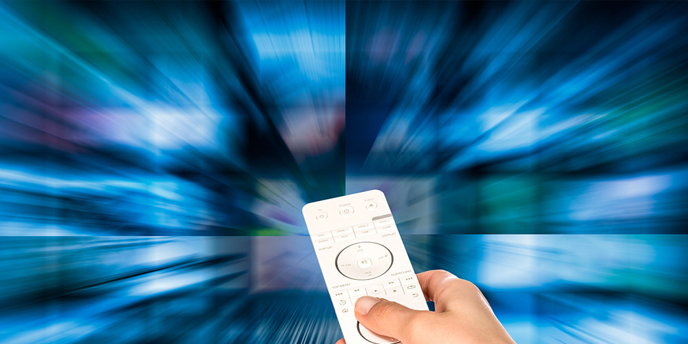 Image portraying connected TV (CTV)