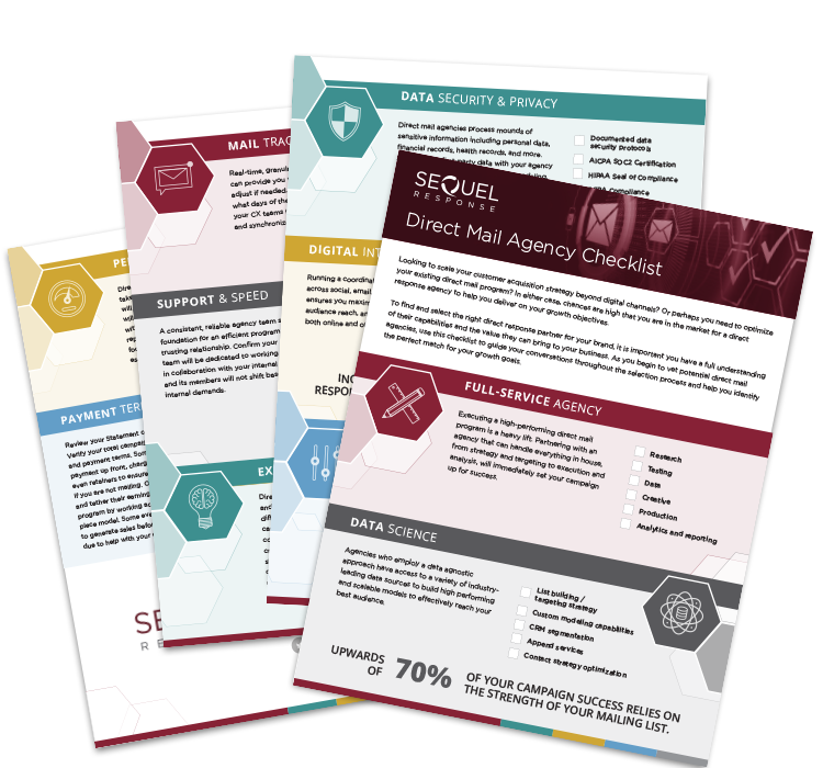 Direct mail agency checklist